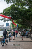 Along the Brisbane River, South Bank