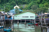 Mosque at the floating village