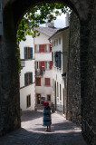 Exploring the old quarter of Sion