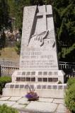 Memorial to deceased alpine guides in Zermatt