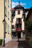 In the old quarter of Sion