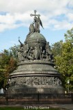 Monument to the Russian Millenium at Novgorod the Great