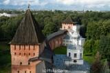 Kremlin wall at Novgorod the Great