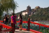 Sightseers at the Summer Palace, Beijing