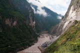 Tiger Leaping Gorge on the Jinsha (Golden Sands) River, part of the Yangtze