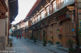 Old Town streets of Shangri-La, rebuilt after a disastrous fire in 2014