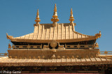 Golden roofs of the Jokhang Temple
