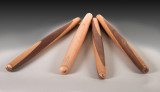 French rolling pins  from laminated woods.