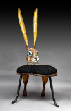 This Hare Chair was made at a Collaboration. Miranda was the inspiration behind the project.