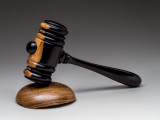 Gavel made from African Blackwood and sound board is made from  Bacote.