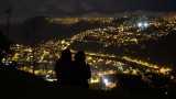 Overlooking Quito at Night