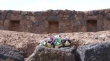 The Pandafords Visit the Raqchi Ruins in Peru