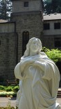 Assumption of Our Blessed Mother statue