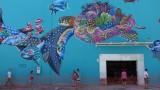 Playa del Carmen Mural