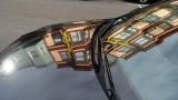 North Beach Car Reflection