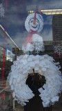 Out of the Closet Snowman on Polk Street
