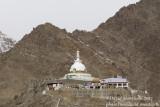 Monastery overhanging Leh (Ladakh)