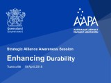Strategic Alliance Awareness Session - Enhancing Durability - Townsville 19 April 2018