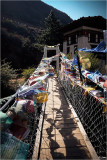 Paro River Suspension Footbridge