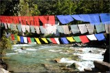 Land of Prayer Flags and Clear Water