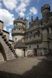 Au chateau de Pierrefonds