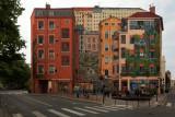 Lyon -  mur des Canuts