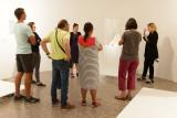 Marcel Duchamp expliqué à un groupe de mal-entendants