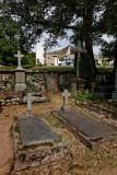 Chapelle de RonchampLe cimetière