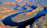 San Juan River as it enters Lake Powell, AZ