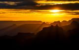 Sunset at Desert View, Grand Canyon National Park, AZ