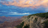 Yavapai Point Sunset, South Rim, Grand Canyon National Park, AZ