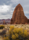Temples of the Sun and Moon, Capitol Reef National Park, UT