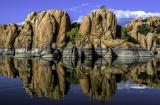 Watson Lake shoreline, Prescott, AZ