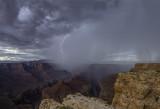 Monsoon Storm at Tatahatzo Point, Marble Canyon, Grand Canyon National Park, AZ