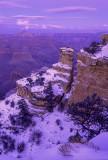 Yaki Pont after sunset, Grand Canyon, AZ