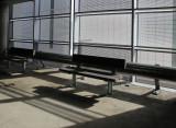 Hospital Car Park Seating Area