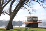 Yachting Control Tower and Trees