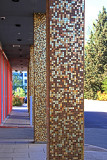 Gold Speckled Pillars