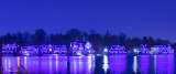 Boathouse Row on the Schuylkill River. Philadelphia.