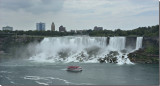American Falls at Grand Island  upstate NY As seen from Canada