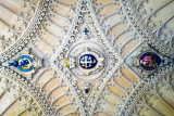 Archway ceiling at entrance - Oxford University