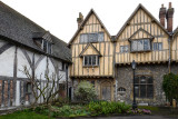 Old houses in the grounds of Winchester Cathedral
