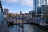 Bristol Harbour towards City Centre