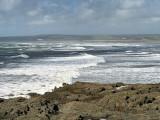 Surf up at Westward Ho