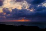 Sunset from Westward Ho in Devon