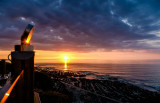 Sunset at the Pier House - Westward Ho