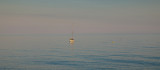 Yacht at sea - Sunset @ Budleigh Salterton