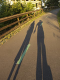 amy and i #towpath