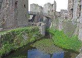 Huge tower on left has its own moat 0043