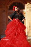 Placer County Courthouse Model Shoot Theme Love Red